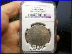 1893 S Morgan Silver Dollar Rare Key Date Coin Ngc Good Details