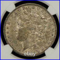 1895-O $1 Morgan Silver Dollar Solid Original Key Date NGC AU53 Z1399