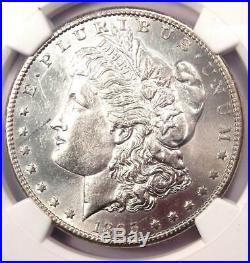 1895-S Morgan Silver Dollar $1 NGC AU Details Rare Coin Looks MS / UNC