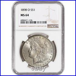 1898-O US Morgan Silver Dollar $1 NGC MS64