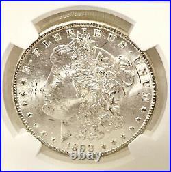 1898-o Morgan Silver Dollar Ngc Graded Ms64 Free Us Shipping
