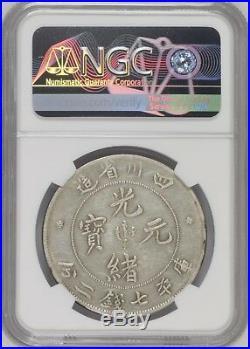 1901-08 China Szechuan Silver Dollar Ngc Xf40