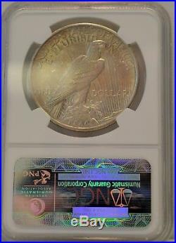 1921 $1 Peace Dollar NGC MS 63