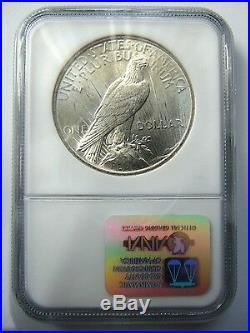 1922 & 1923 Silver Peace Dollar NGC MS 64 Binion Collection Pedigree Box Set