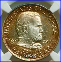 1922 50¢ Grant witho Star Commemorative SIlver Half Dollar NGC MS64