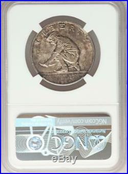1925-S California Commemorative Silver Half Dollar NGC MS 64 Mint Error