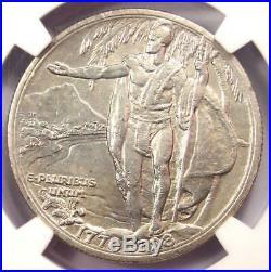1928 Hawaiian Half Dollar 50C Hawaii Coin NGC Uncirculated Details (UNC MS)