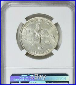 1935 Spanish Trail Silver Commemmorative Half Dollar NGC MS-64 Mint State 64