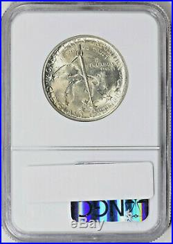 1936 Cleveland Commemorative Silver Half Dollar NGC MS 64 Mint State 64