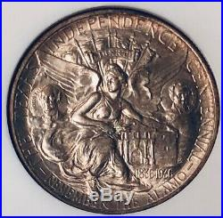 1937-D Texas Commemorative Silver Half Dollar NGC MS 66 Mint State 66