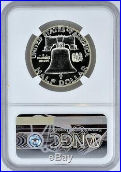 1957 50c Silver Proof Franklin Half Dollar NGC PF 68 Star