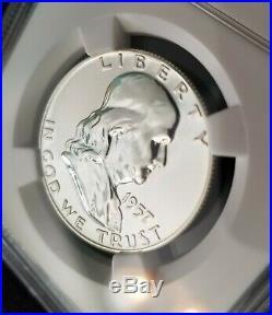 1957 Franklin Proof Half Dollar NGC PF 68