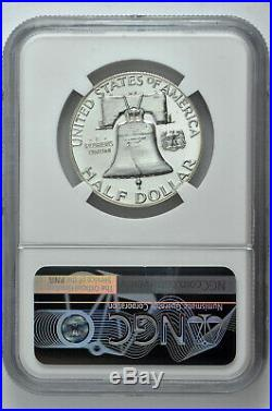 1957 Proof 50c Silver Franklin Half Dollar NGC PF 68