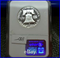 1962 50¢ Benjamin Franklin Half DollarNGC Graded PF67Star Grade CameoRare