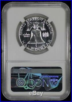 1963 Proof Franklin Half Dollar 50c Ngc Certified Pr Pf 69 Spot Haze Free