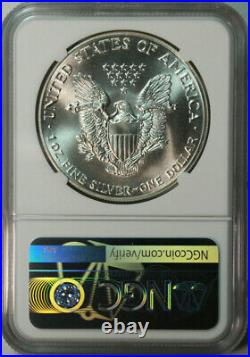 1986 American Eagle. 999 Pure Silver Dollar / NGC MS69 / First Year Issued