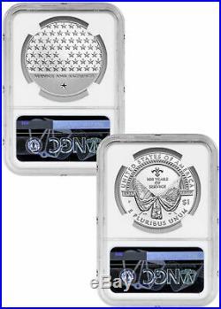 2 PC 2019P American Legion Silver Dollar &Medal NGC PF70 UC ER PRESALE SKU58171