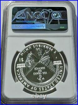 2019-P American Legion 100th Anniversary Commem Silver Dollar NGC PF-70 UCAM