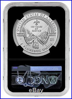 2 PC 2019P American Legion Silver Dollar /&Medal NGC PF70 UC ER SKU58171