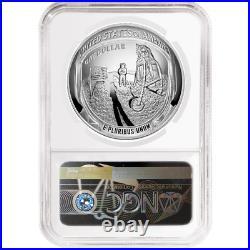 2019-P Proof $1 Apollo 11 50th Ann Silver Dollar NGC PF70UC ASF ER Label