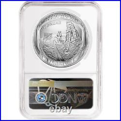 2019-P UNC $1 Apollo 11 50th Ann Silver Dollar NGC MS70 ASF ER Label