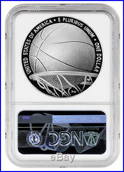 2020 P $1 Basketball Hall of Fame Silver Dollar Proof Coin NGC PF69 FR PRESALE