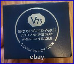 2020 W End World War II 75 American Silver Eagle V75 NGC PF70 IWO JIMA PRESAL