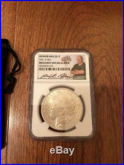 Pawn Stars Coin 1921 Silver $1 Morgan Dollar Signed Rick Harrison NGC Chum Lee