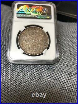 St Straits Settlements Ngc Au Scarce 1903 Raised B KG Edward VII Silver Dollar